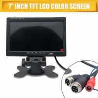 7''TFT LCD Screen For Car Monitor Reversing Rearview Backup Camera Rear View DVD