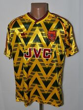 ARSENAL 1991/1993 BRUISED BANANA AWAY FOOTBALL SHIRT JERSEY ADIDAS RETRO REPLICA
