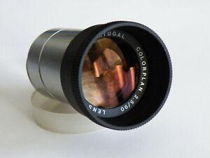 Projektionsobjektiv Leitz Colorplan 2,5/90mm. Top Zustand