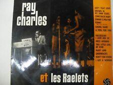 Ray Charles et les Raelets  French Atlantic LP