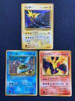 Pokemon Card Articuno Zapdos Moltres Quick Starter Gift Deck Japanese No.145 Set