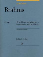 Henle Urtext Brahms: At the Piano 15 Well-Known Original Pieces