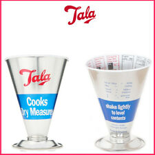 TALA Measuring Cup Dry Food Measure Metal Scale Jug Kitchen Weighing NEW Utensil