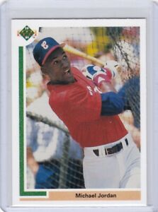 DR: 1991 Upper Deck Baseball Card #SP1 Michael Jordan Chicago White Sox - NM-Mt