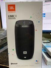 JBL Link 10 Voice-activated Portable Speaker Google Assistant Waterproof