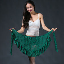All match New Women 2017 Lace Belly Dance Hip scarf wrap belt Skirt