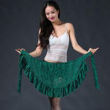 All match New Women 2017 Lace Belly Dance Hip scarf wrap belt Skirt