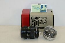 Canon Macro Camera Lens - 50mm 1:3.5 / 52mm UV