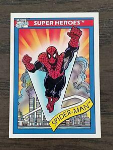 1990 Marvel Comics Impel Cosmic Spider Man #30