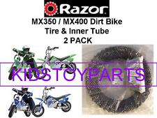 NEW! Razor MX350 Dirt Bike Rocket Tire & Inner Tube