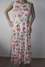 LAURA ASHLEY STUNNING VINTAGE STYLE FLORAL PRINT SHIFT / TEA DRESS SIZE 12
