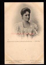 RUSSIA L'IMPERATRICE DE RUSSIE ALEXANDRA-FEODOROVNA CZARINA PC 1901 - RU111