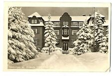 alte Postkarte Sanatorium Dr. strokorb Friedrichsbrunn