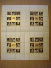 """Schalterbogen aus 1969 OPERNBLOCK mit Abart""""SCHWANENSFF""""ANK.Nr.:Block 3 pf**"""