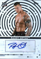 WWE Randy Orton Topps 2010 Authentic Autograph Card