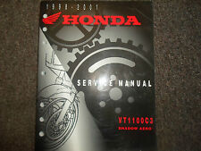 1998 1999 2000 2001 Honda VT1100C3 Schatten Aero Service Repair Shop Manuell OEM