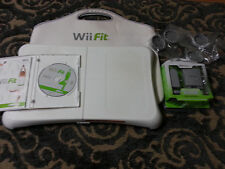 Wii Fit Original Game and Balance Board Nintendo Wii ++Rechargeable battery++Bag