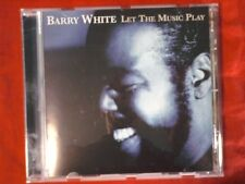 WHITE BARRY- LET THE MUSIC PLAY. CD.