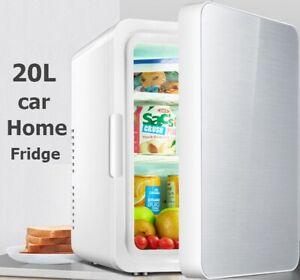 20L Portable Car 12V Home 220V Fridge Cooler Warmer For Camping Freezer