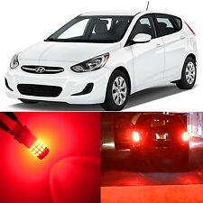 Alla Lighting Brake Tail Stop Lights 1157 2357 Red LED Bulbs for Hyundai Accent