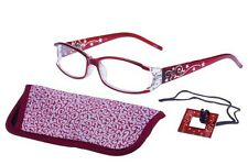 foster grant Fashion reading glasses Holland +2.00, Free Case, Loop,  RRP17.99