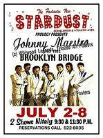 DON RICKLES 1969 STARDUST CLUB Wildwood NJ POSTER//SIGN