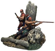 "W. Britain, Clash of Empires: 16046 - ""The Ambush"" Native Warriors Firing Cover"