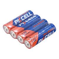 PKCELL 4 Stück AA Alkaline EN91 2A MN1500 LR6 AM3 1.5V Einweg-Batterien