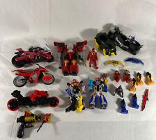 Vintage Power Rangers Bandai Motorcycle Vehicle Figure Lot Mystic Force
