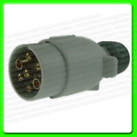 12S 7 Pin Grey Towing Plug in Plastic [MP029] Caravan Supplementary Electrics