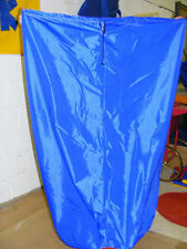 White or Blue LARGE PLUS storage bag for bouncy castles 60 x 105 inch