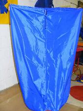 Bolsa de almacenamiento de gran tamaño ideal Camping-de almacenamiento de 84 X 60 de alto a prueba de ducha de nylon azul
