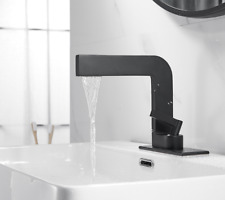 Black Faucets Single Handle Bathroom Sink Faucet Household Wash Basin Faucet New