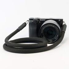 Kameragurt schwarz 120 cm – Schultergurt Kameraseil Tragegurt Camera Strap