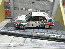 LANCIA Delta HF Integrale 16V Rallye Monte Carlo 1990 #1 Biasion IXO Altaya 1:43