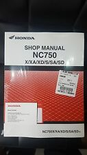GENUINE OEM #HONDA 2016 SM #NC750 X-XA-XD-S-SA-SD E  MOTORCYCLE SHOP MANUAL