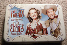 Rare ROY ROGERS DALE EVANS Playing Cards in Tin 2 Decks New Factory Sealed WOW!