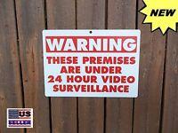 Security Yard Warning Alarm Sign Home Surveillance Sign