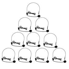 10XMini 3.5mm Headset Microphone Condenser MIC for Voice Amplifier Speaker Tour