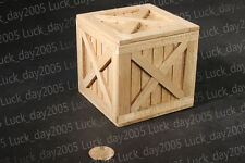 """TOY MODEL Scene WWII / Modern Wooden Case Diorama 1/6 FIT for 12"""" action figure"""