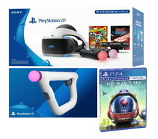 Sony PlayStation VR - No Man's Sky, 2 Move Controllers, Aim Controller, *MINT*