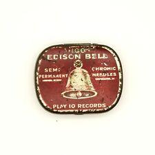 GRAMOPHONE NEEDLE TIN - Edison Bell Semi-Permanent Chromic Needles [NEEDLE TIN]