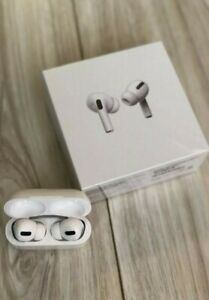 Apple AirPods Pro White In Ear Canal Headset with Wireless Charging Case. Sealed