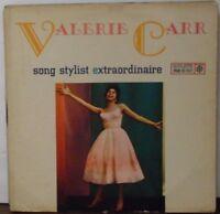 Valerie Carr song stylist extraodinaire vinyl R25046   092918LLE