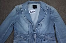 THE LIMITED WOMEN JEAN JACKET/TOP  Size-M. TAG NO. 42M