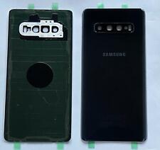 Vitre arrière cache batterie avec adhésif SAMSUNG GALAXY S10 S10+ S10E / NEUF