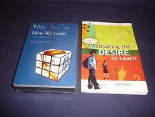 Teaching Co Great Courses   CDs              HOW  WE  LEARN        new + BONUS