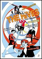 The Hives Spazzys @The Corner Hotel Richmond 2000 Concert Poster Art Jazz Feldy