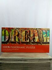 "Dream by Bella Dos Santos 1000 piece Panoramic Puzzle 38.60"" X 13.40"" New"