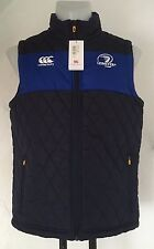 LEINSTER RUGBY PEACOAT BLUE PADDED GILET  BY CANTERBURY SIZE ADULTS XL NEW